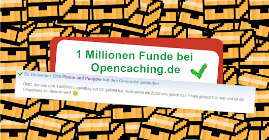 "1.000.000 Funde bei OC – 1.000.000 mal ""Fuuund!"""