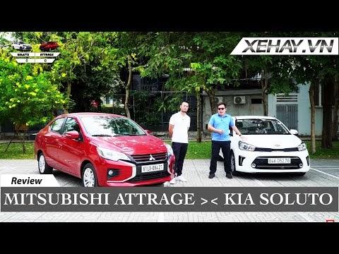 Clip Phân Tích Chi Tiết  Mitsubishi Attrage 2020 và Kia Soluto -Ưu Nhược Điểm