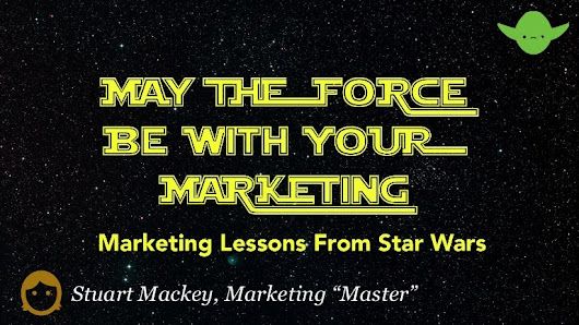 May the force be with your marketing #starwarsday