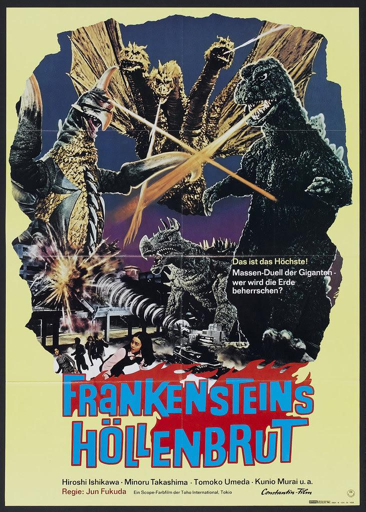 Godzilla on Monster Island (Toho, 1972) German