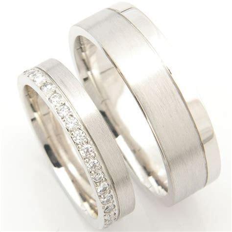 Platinum Matching Pair of Wedding Rings, Form Bespoke