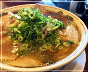 京都の最後は美味しいラーメン!