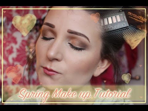 Spring Makeup Tutorial Using Revolution and Collection palettes