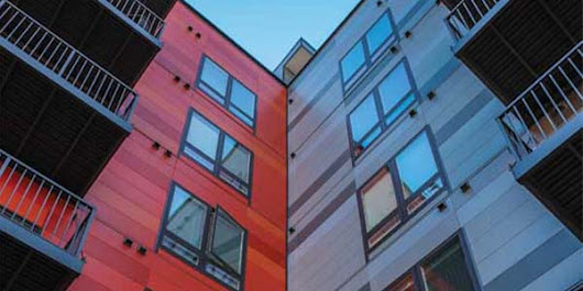 Designing with fiber cement to enliven façades