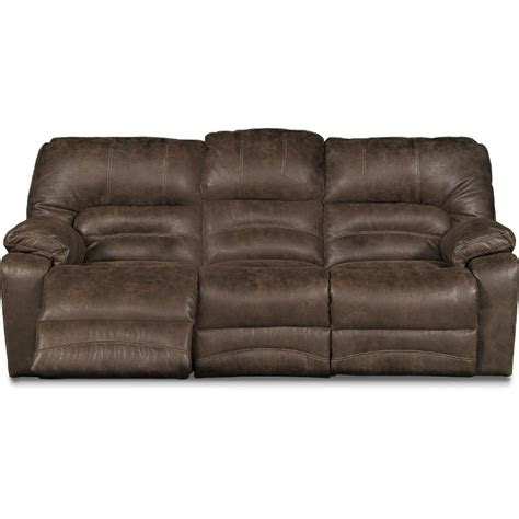 chocolate brown microfiber power reclining sofa legacy