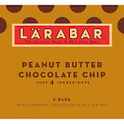 Larabar Fruit & Nut Bars, Peanut Butter Chocolate Chip - 5 count, 1.6 oz each