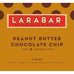 Larabar Fruit & Nut Bars, Peanut Butter Chocolate Chip - 5 count, 1.6 oz each