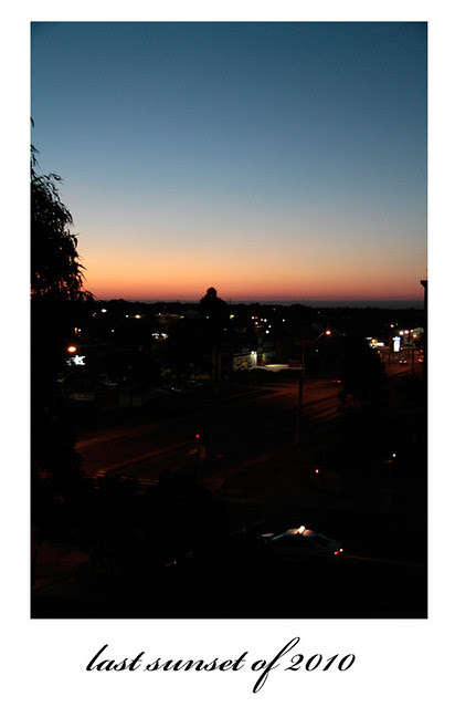 last sunset of 2010