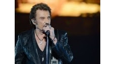 """""""Shalom Tel-Aviv""""! Johnny Hallyday a donné mardi soir le premier concert de sa longue carrière en Israël, devant des fans franco-israéliens acquis d'avance. (c) Afp"""