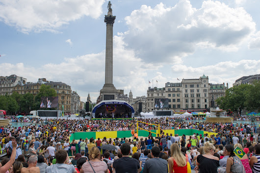 Brazil Day at Trafalgar Square | Westminster London | London hotels | LondonTown.com