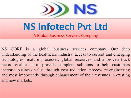 NS Infotech Pvt Ltd  -  A Global Business Services Company