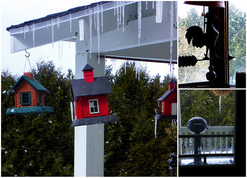 Spring: Snow & Icicles