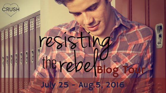 Resisting the Rebel Blog Tour Banner