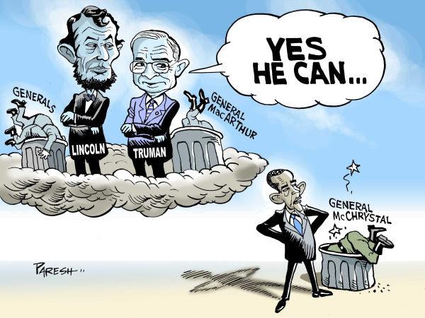 Cartoon by Paresh Nath