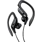 JVC HA-EB75 Ear-Clip Earbuds - Black