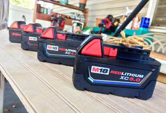 Seeing Red: Milwaukee M18 RedLithium Batteries