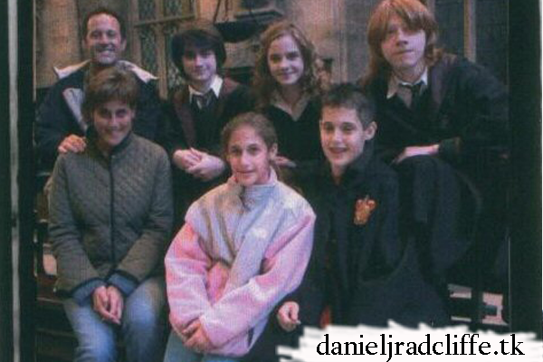 Updated: Make-A-Wish Foundation: Brittany meets Daniel Radcliffe (Goblet of Fire set)