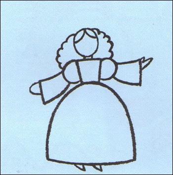 Aprender A Dibujar Dibuja Un Hada Eshellokidscom