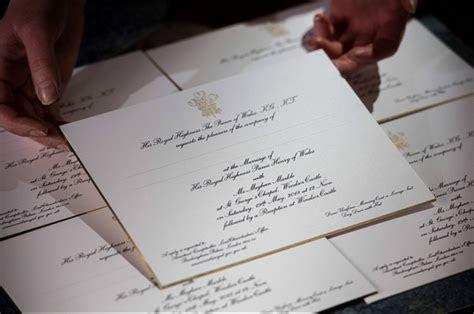 Meghan Markle and Kate Middleton's wedding invites   see