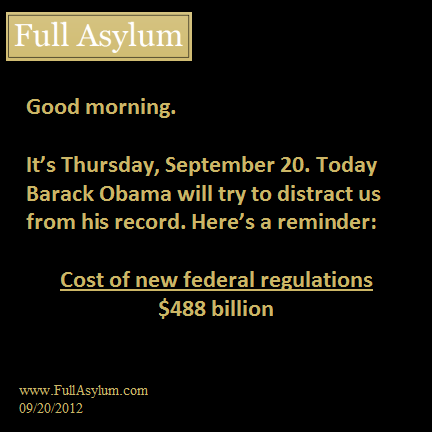 Obama's Record: regulation