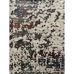 """Artsy Watercolor Abstract Contemporary Pattern Vintage Vibe Yet Modern Area Rug 5' 3"""" x 7' 4"""" / Multi"""