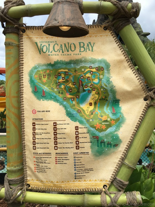 Volcano Bay: A Guide to Universal Orlando's Water Theme Park - Dessert Now, Dinner Later!