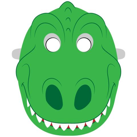 Dinosaurier Maskenvorlage Basteln Mit Papier Vorlagen Zum Ausdrucken Fur Kinder