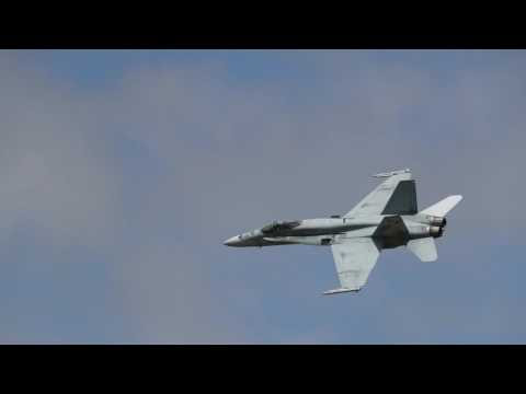 F/A-18 Flight displau