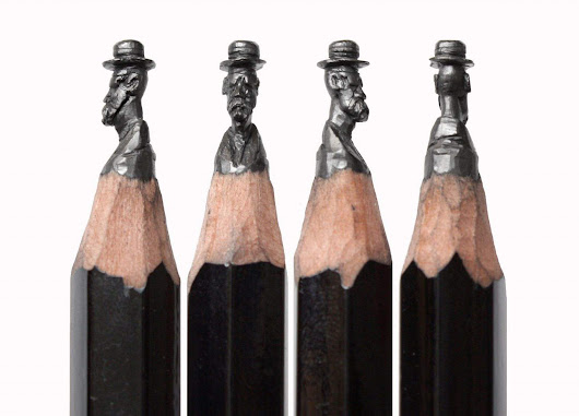 Pencil artist works in miniature -- and that's the point | Cult of Mac