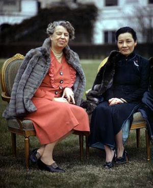 Eleanor Roosevelt - Madame Chiang