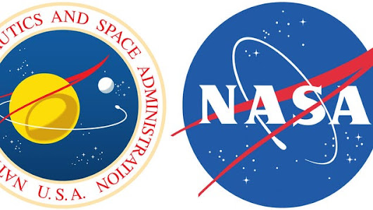 What's The Red Shape in NASA's Meatball Logo?