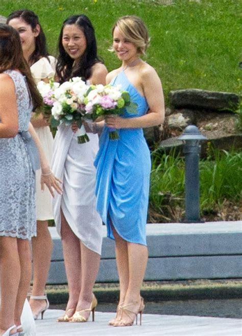 Rachel McAdams as Bridesmaid at Her Sister's Wedding