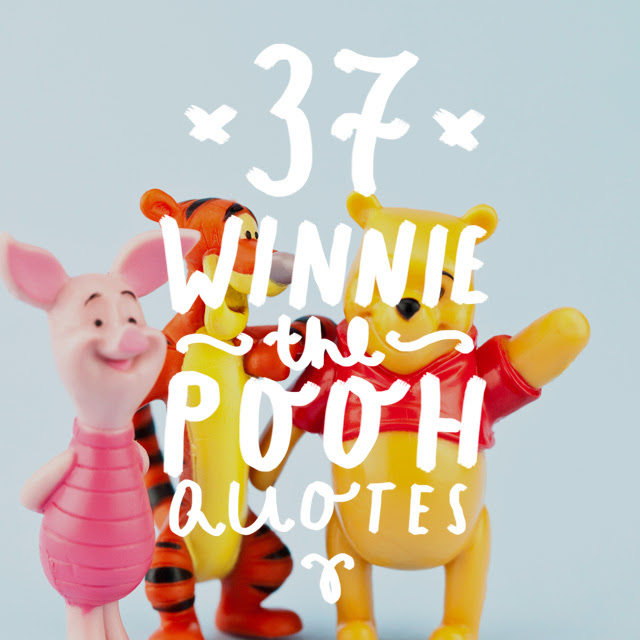 37 Winnie The Pooh Quotes To Cherish Bright Drops