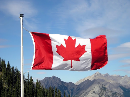 Canada Day in Banff 2015