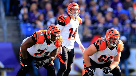 "Marvin Lewis says Bengals' offensive line ""not a concern"""