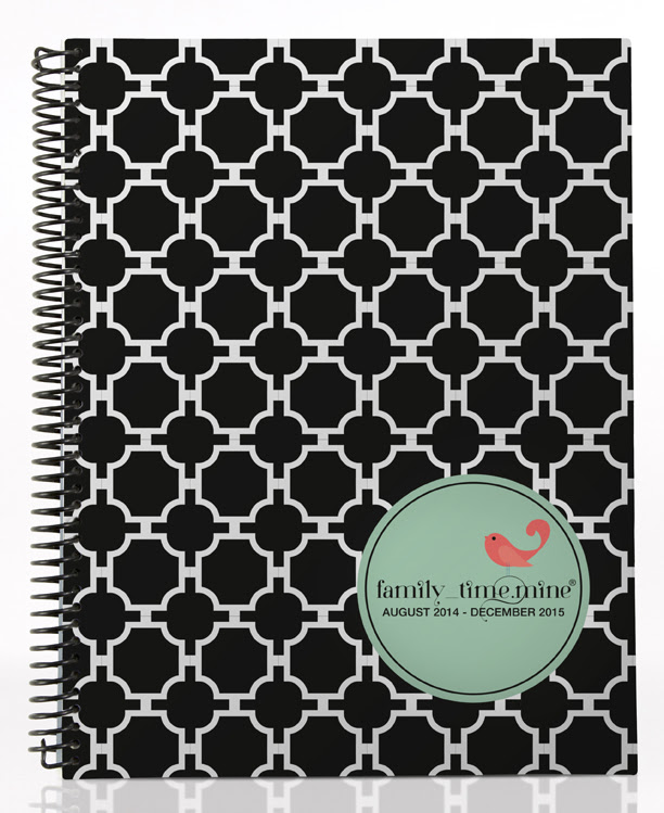 Spiral-bound Family Time by Dotmine Day Planners (Review) - House ...