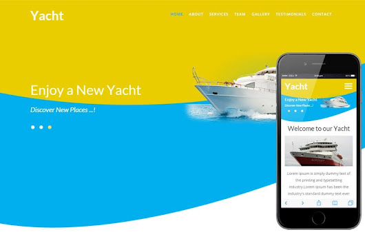 Yacht a Transport Category Flat Bootstrap Responsive Web Template by w3layouts