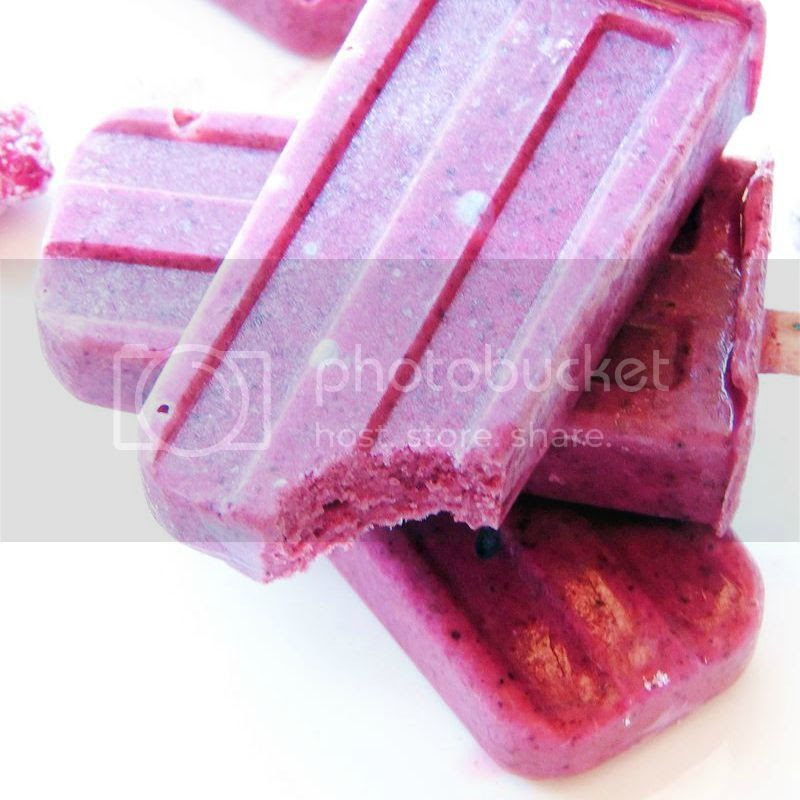 Mixed Berry Frozen Yogurt Popsicles from www.bobbiskozykitchen.com