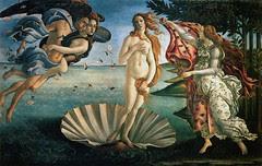 Birth of Venus oleh Botticelli