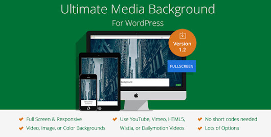 Ultimate Media Background for WordPress