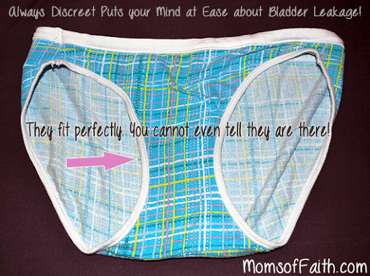 Always Discreet Puts Mind at Ease about Bladder Leakage!