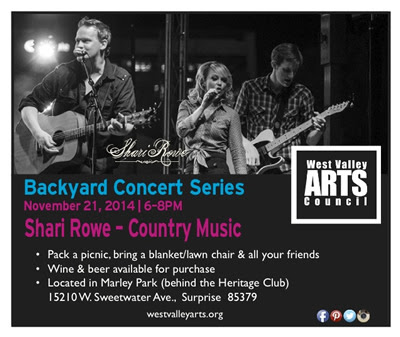 West Valley Arts Council Outdoor Concert Series | Marley Park