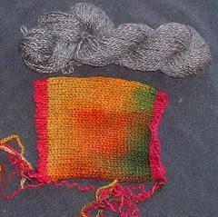 Sue's experimental fabric