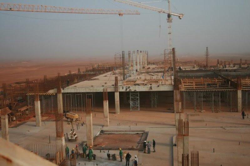 Construction of Dakar Senegal's New  International Airport