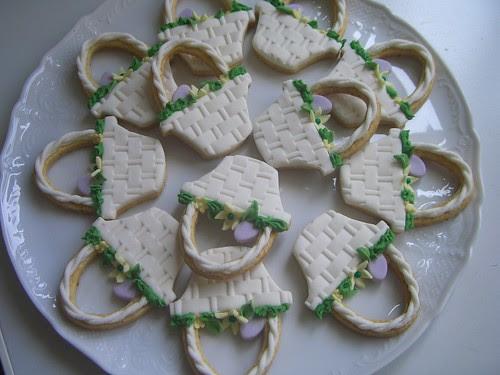 biscotti cestino pasqua di Daniela Cuzzocrea