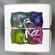 Blown Glass Christmas Ornaments - Boxed Set of Four
