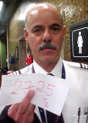 A foto que levou Hersh a ser detido em 2004; à época, ele teve de pagar multa de R$ 36 mil para ser solto