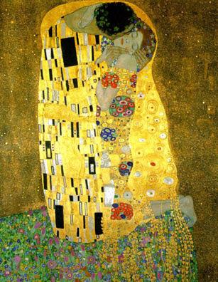 Gustav Klimpt The Kiss