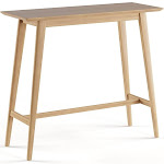 Carson Carrington Viborg Walnut Finish Wood Bar Table (Natural Oak)