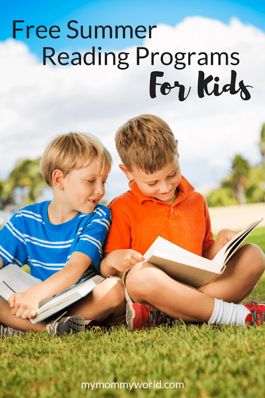 Get your kids reading this summer with Free Summer Reading Programs!